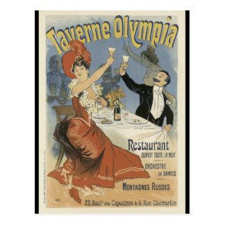Art Nouveau Postcard - Taverne