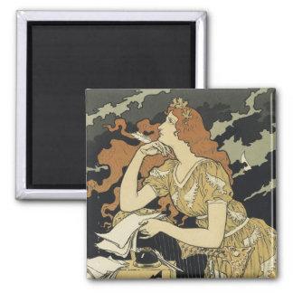Art Nouveau Poster Magnets