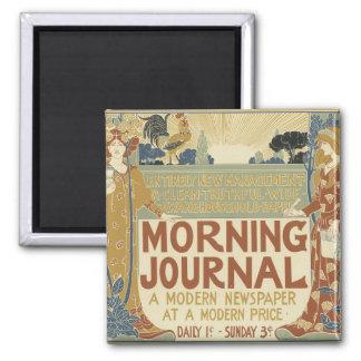 Art Nouveau Poster Magnets - Journal