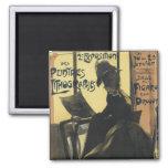 Art Nouveau Poster Magnets - Lithographs