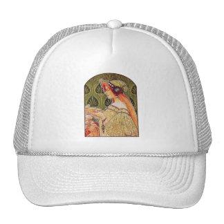 """Art Nouveau: Privat-Livemont """"Biscuits"""" Trucker Hat"""