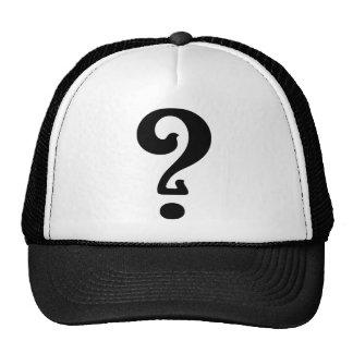 Art Nouveau Question Mark Trucker Hat