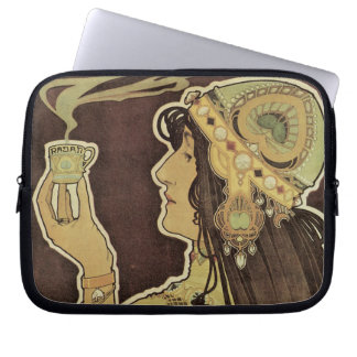 Art Nouveau - Rajah Coffee Laptop Sleeve