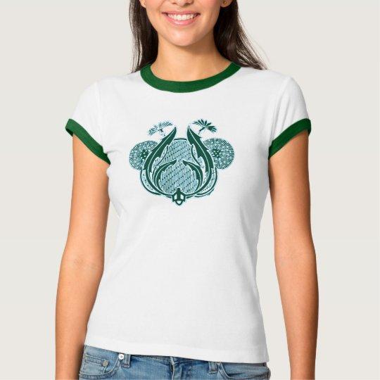 art nouveau_reverse green T-Shirt
