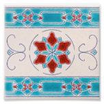 Art Nouveau's Majolica Tiles Photo Print