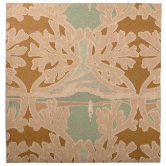 Art Nouveau Sailboat Napkins