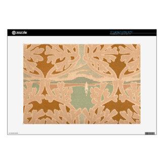 Art Nouveau Sailboat Nautical Theme Print Skin For Laptop