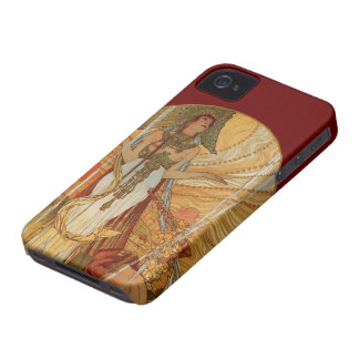 Art Nouveau - Salammbô - Alfons Maria Mucha - 2 Case-Mate iPhone 4 Case