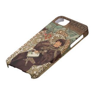 Art Nouveau - Sarah Bernhardt & Dragon - 1 iPhone SE/5/5s Case