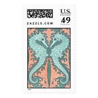 Art Nouveau Postage Stamp