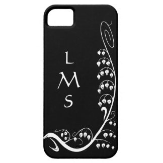 Art Nouveau Snowdrops Custom iPhone5 Case