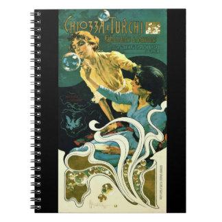 Art Nouveau Soap Advertisement 1899 Spiral Notebook