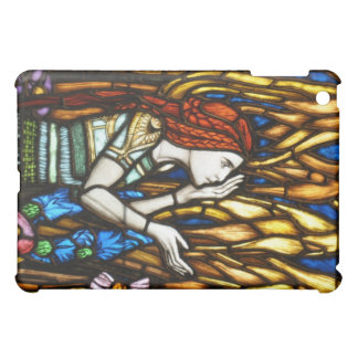 Art Nouveau Stained Glass Elf iPad Mini Cover