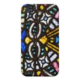 Art Nouveau Stained Glass Face Cover For iPhone 4
