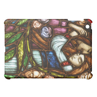 Art Nouveau Stained Glass Fantasy Lovers iPad Mini Cases
