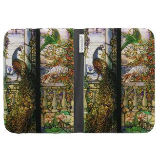 Art Nouveau Stained Glass Kindle Case