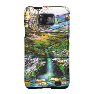 Art Nouveau Stained Glass Samsung Galaxy S Case Samsung Galaxy S2 Cover