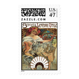 Art Nouveau Stamp 2
