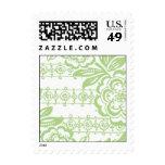 Art nouveau Stamp left