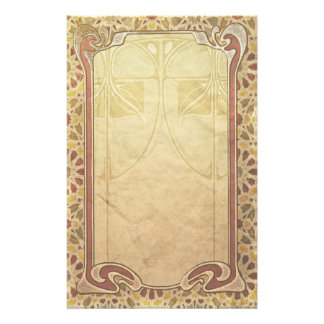 Art Nouveau Stationery - Steamway, by GalleryGifts