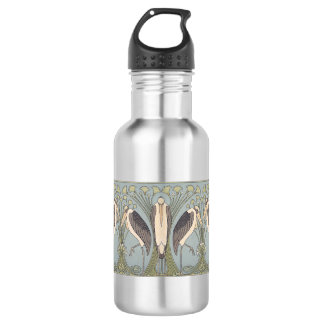 Art Nouveau Storks 18oz Water Bottle