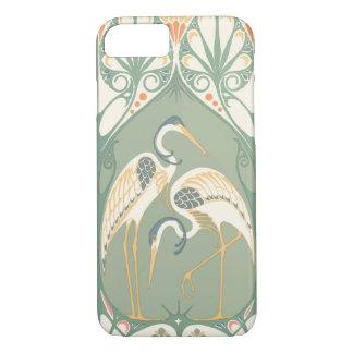 Art Nouveau Storks iPhone 8/7 Case
