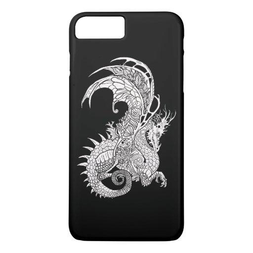 Art Nouveau style Dragon iPhone 8 Plus/7 Plus Case