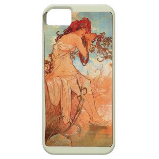Art Nouveau Summer Mucha Phone Case iPhone 5 Cases