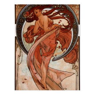 Art Nouveau The Dance Post Card