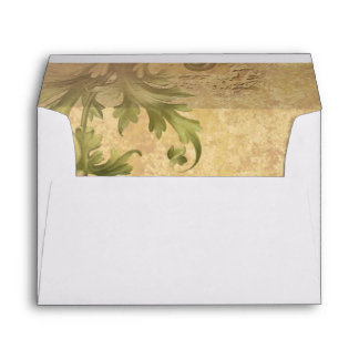 Art Nouveau The Four Seasons Envelope