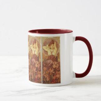 Art Nouveau The Precious Stones, Amethyst Mug