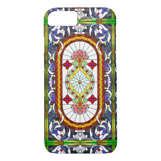 Art Nouveau Tiffany Stained Glass Window iPhone 7 Case