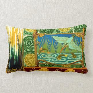 Art Nouveau Tile Design Throw Pillow