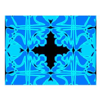 Art Nouveau Tile Pattern #2 Postcard