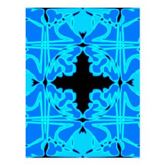 Art Nouveau Tile Pattern #2 Postcards