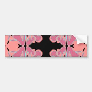 Art Nouveau Tile Pattern Bumper Stickers