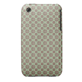 Art Nouveau Tiled Geometric Abstract iPhone 3 Case-Mate Case