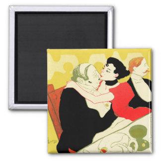 Art Nouveau: Toulouse Lautrec - Reine de Joie Magnet