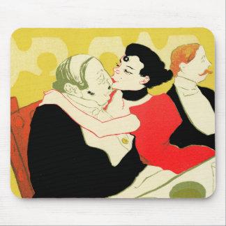 Art Nouveau: Toulouse Lautrec - Reine de Joie Mouse Pads