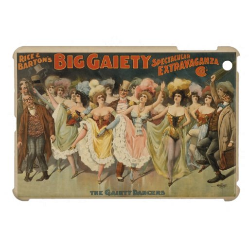 Art Nouveau Variety Show Poster Case For The iPad Mini