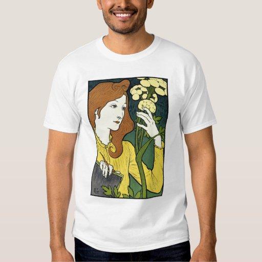 Art Nouveau Vintage Art: by Grasset Tee Shirt