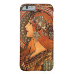 Art Nouveau Vintage Design ~ Zodiac Barely There iPhone 6 Case