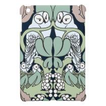 Art Nouveau Voysey Owls Nest Pattern iPad Mini Case