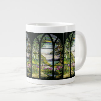 Art Nouveau Water Garden Jumbo Mug