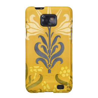 Art Nouveau White Lily Samsung Case-MateCase Galaxy SII Covers