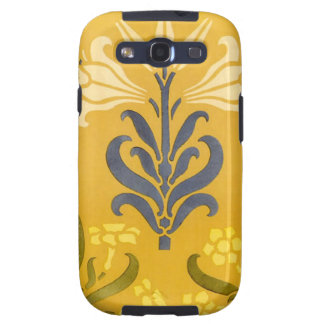 Art Nouveau White Lily Samsung S3 Case-MateCase Galaxy S3 Covers