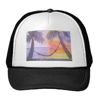 Art Nouveau with a Tropical Twist Hat