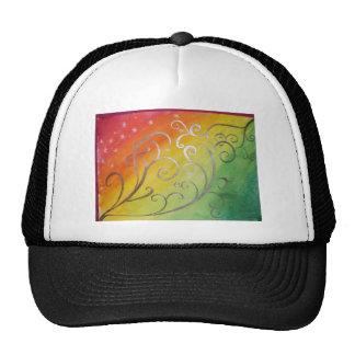 Art Nouveau with a Tropical Twist Trucker Hat