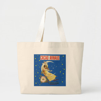 Art Nouveau Woman and Champagne Jumbo Tote Bag