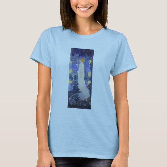Art Nouveau Woman with Calla Lilies T-Shirt